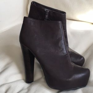 🔥🆕🔥 Forever 21 High Heel Brown Boots